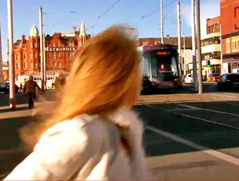 jenny sees blackpool tram