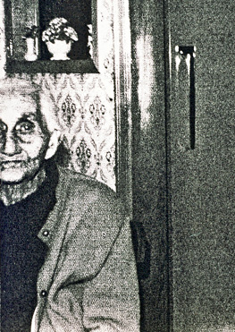 mary webb in kitchen, from her grandson Frank