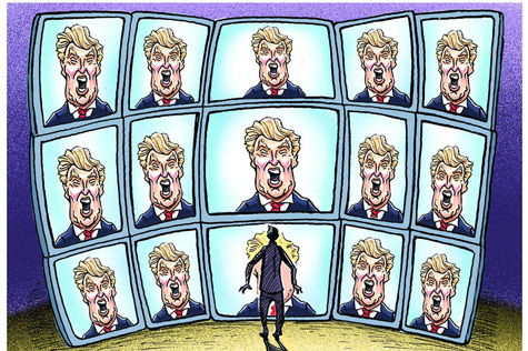 trump imagery tv