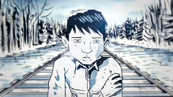 Chanie Wenjack the secret path jeff-lemire-cbc