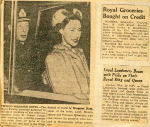 George VI and Princess Margaret
