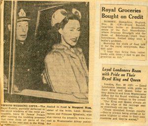 George VI and Princess Margaret