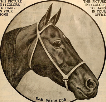 Harness racing Dan Patch Breeder_and_sportsman_mag_1911_wikicommons