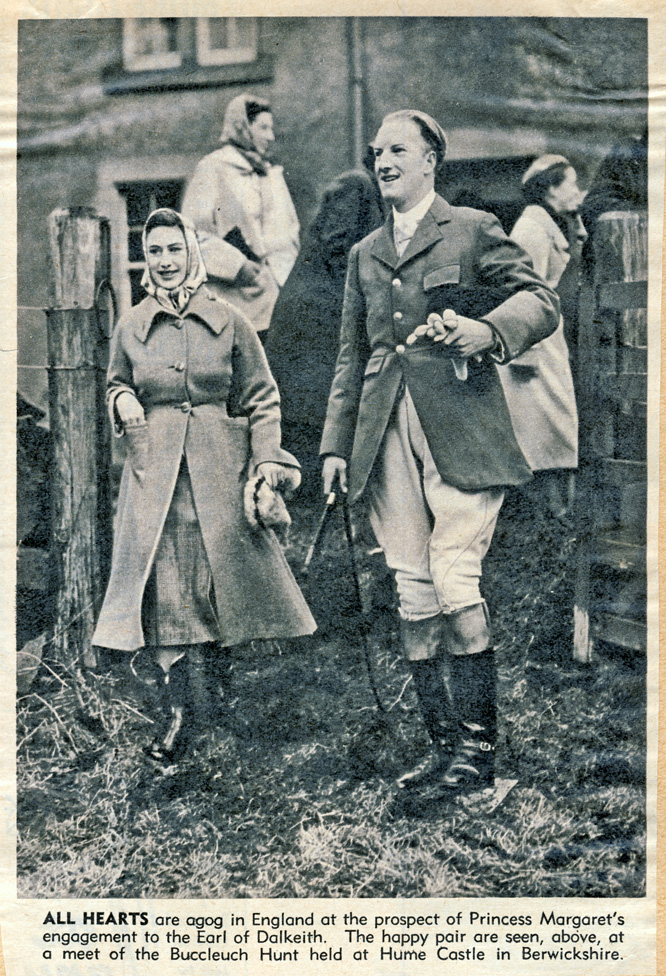 princess margaret and earl of dalkeith