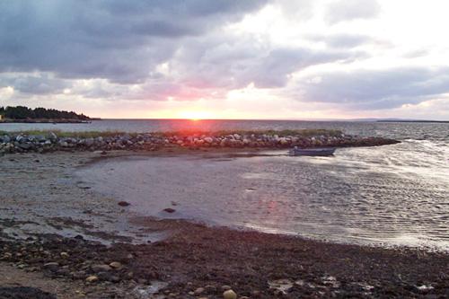 st george's beach sunset 2008 photo dorothy stewart