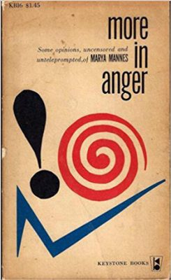 More in Anger cover Keystone Books J B Lippincott 1958