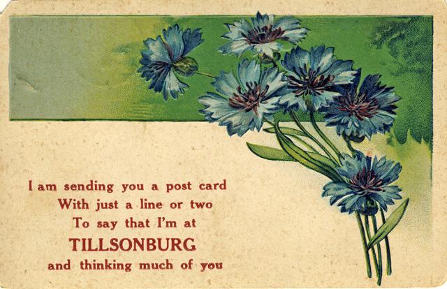 Tillsonburg D Stewart postcards coll.