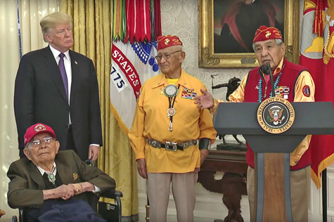 youtube code talkers-white house