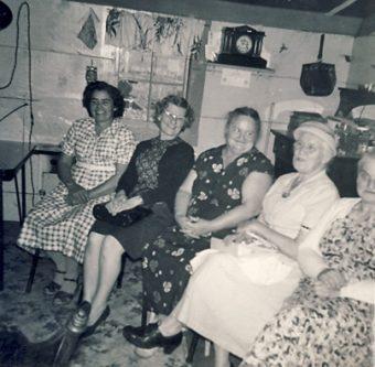 Minnie Lymburner Burwell Oct 1960