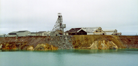 Buchans mine wikicommons - mattie mitchell, newfoundland mikmaq