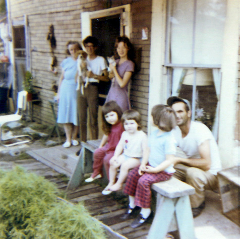 family-west-virginia-1971 photo r anger