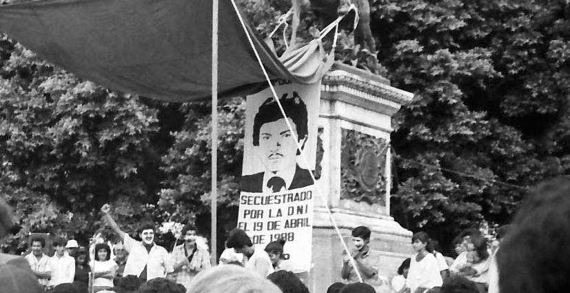 roger gonzales-poster-april-1989