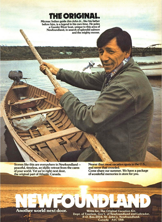 Jim John in MacLeans-2-May-1977-p43 - newfoundland mikmaq