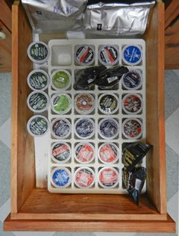 coffee pods in drawer-photo-d-stewart