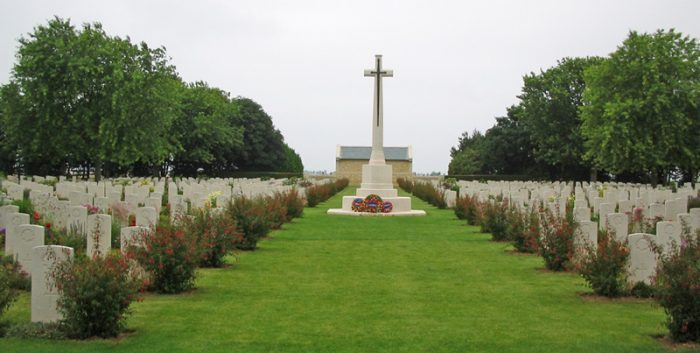 Beny-sur-Mer Canadian War Cemetery, France d-day cropped wikicommons