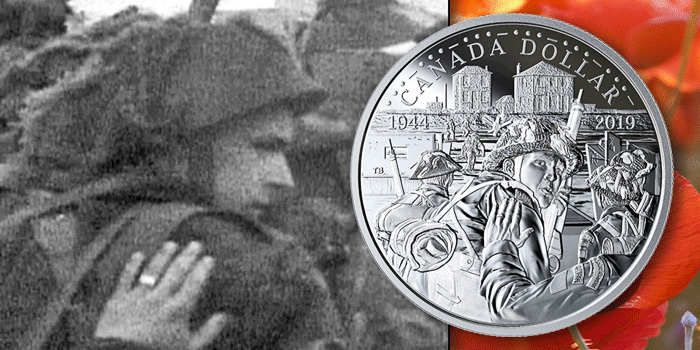 coinweek.com-royal-canadian-mint-30-jan-2019 d-day pvt-george-herman-baker