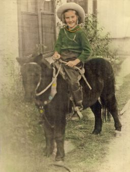 marji smock on pony 1936 Gladewater
