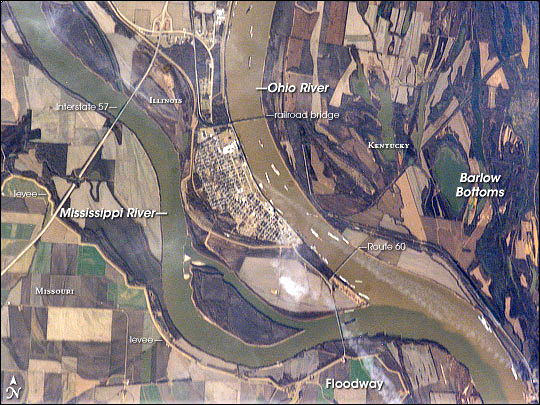 Ohio River Mississippi-confluence-earthobservatory.nasa_.gov_images_6261