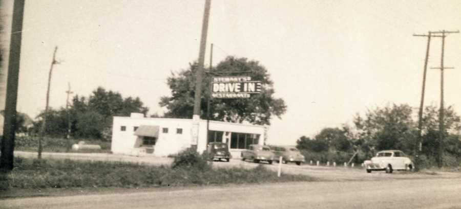 grilled cheese hopes at stewarts-drive-in-1948