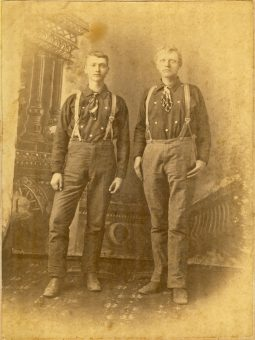 broun and isaac brogan apr-1883-Leadville CO