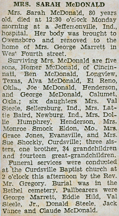 sarah-mcdonald-obit-jun-1935 widow of Lum
