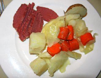 beef in brine dinner-photo-d-stewart