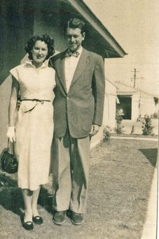 Marji and Bill Stewart in California